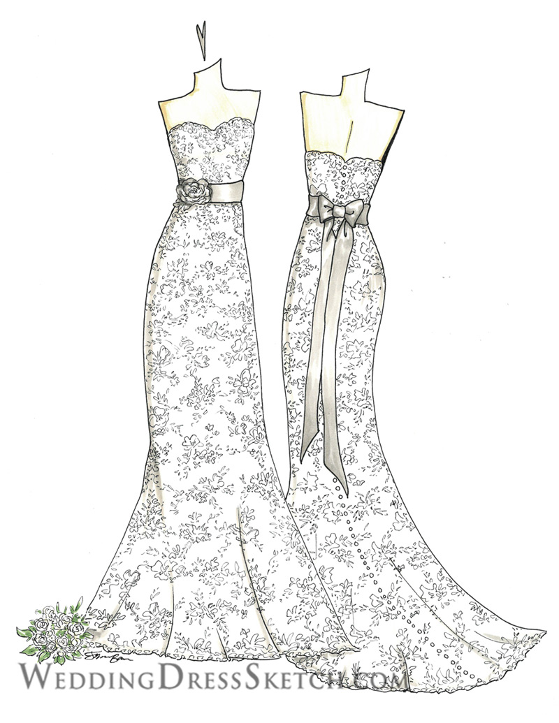 Wedding Dress Art Gallery Wedding